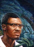 Retrato de Patrice Lumumba